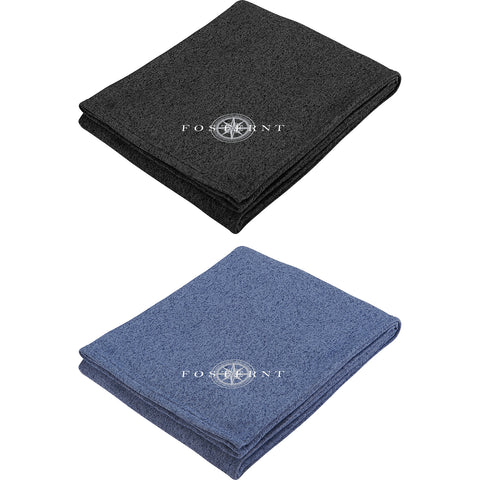 Heathered Fleece Blanket SM-8712
