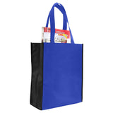 Two Tone Non Woven Tote / Book Bag TFB58