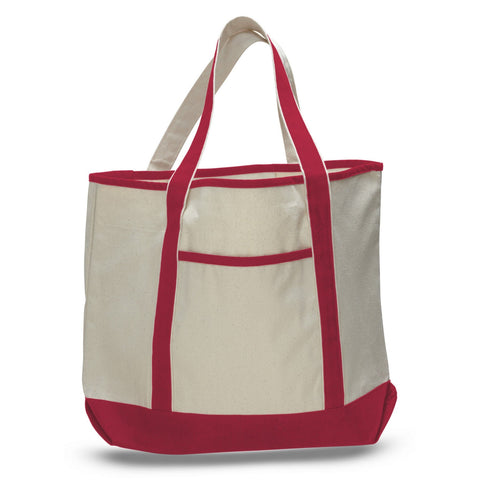 All Time Classic Canvas Nautical Boat Bag - Large - Colors TFW1500-C