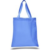 Simple Canvas Tote Bag with Cotton Web Handles - Colors TFW800 - COLORS