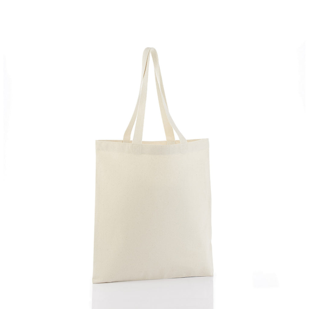 Simple Canvas Tote Bag with Cotton Web Handles - Natural TFW800-NATURAL