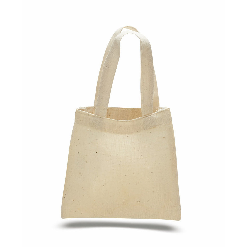 Cute Cotton Mini Tote Bag - Natural TFWTBM - NATURAL