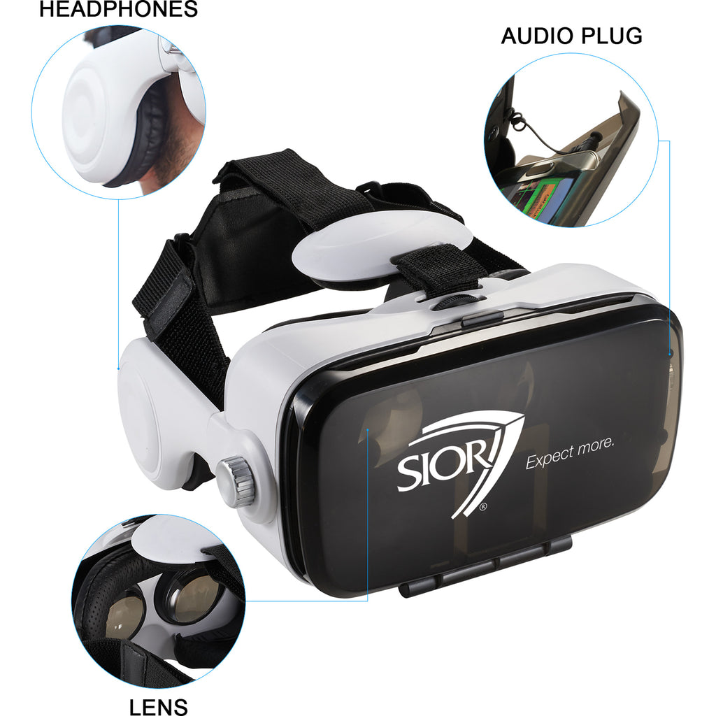 Virtual Reality Headset With Headphones 7140-90