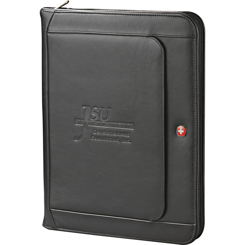 Wenger Executive Leather Zippered Padfolio 9355-10