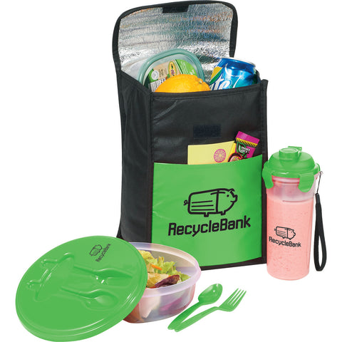 Stay Fit 8-Can Lunch Cooler Gift Set SM-7219