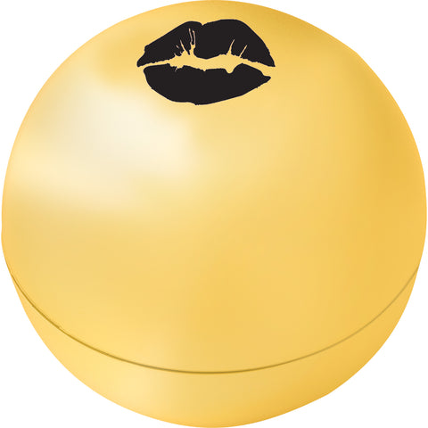 Metallic Non-Spf Raised Lip Balm Ball SM-1519