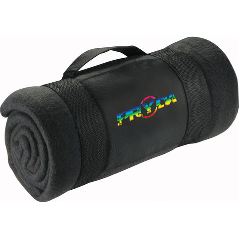 Roll-Up Fleece Blanket With Carrying Strap 1025-99
