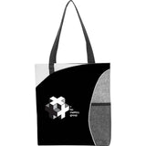 Mesh Pocket Non-Woven Convention Tote 2150-16
