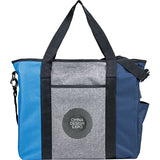 Triad Zippered Usb Tote 3450-18