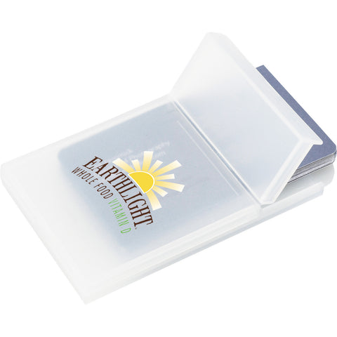 Plastic Business Card Holder SM-9475