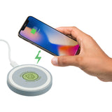 Wheat Straw Quake Wireless Charging Pad 7141-87