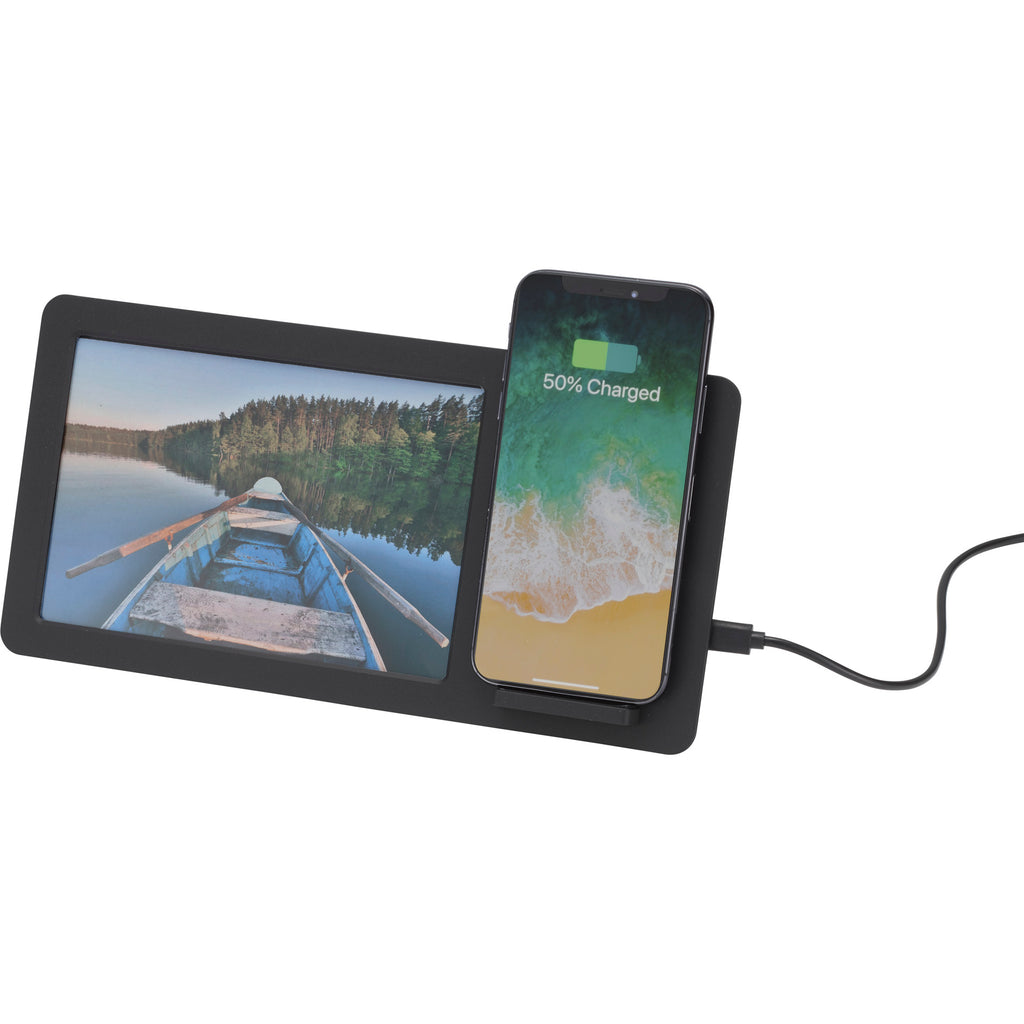 Glimpse Photo Frame With Wireless Charging Pad 7141-84