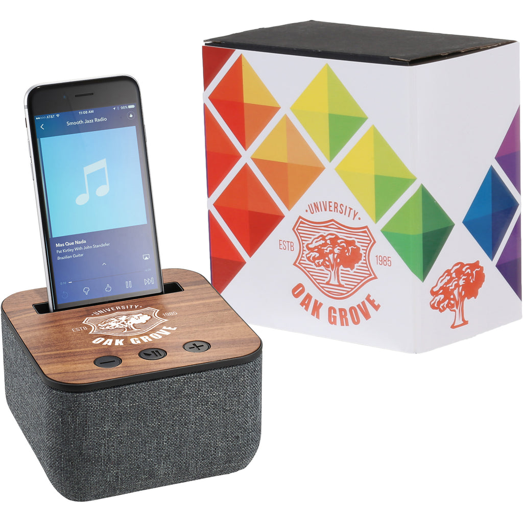 Shae Fabric Bluetooth Speaker With Full Color Wrap 7198-83
