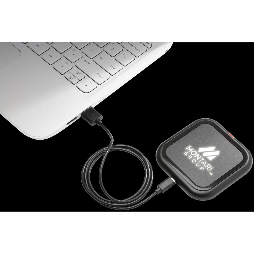 Radiant Light Up Logo Wireless Charging Pad 7141-69