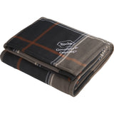 Plaid Fleece Sherpa Blanket 1080-72