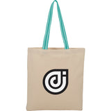 Stripe Handle 6Oz Cotton Canvas Convention Tote 7900-11
