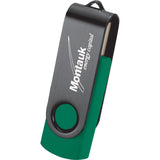 Rotate Black Clip Flash Drive 4Gb 1696-04