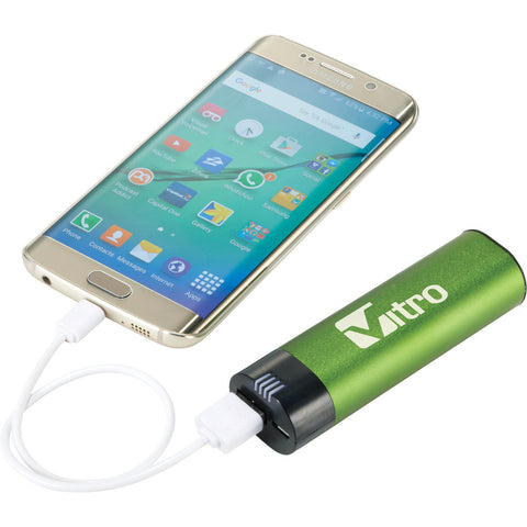 Ul Listed Fusion 2,200 Mah Power Bank SM-3961