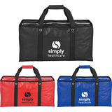 Oversized Laminated Non-Woven Zippered Tote 2160-64