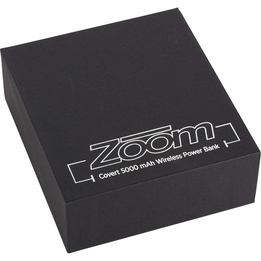 Zoom Covert 5000 Mah Wireless Power Bank 7003-65