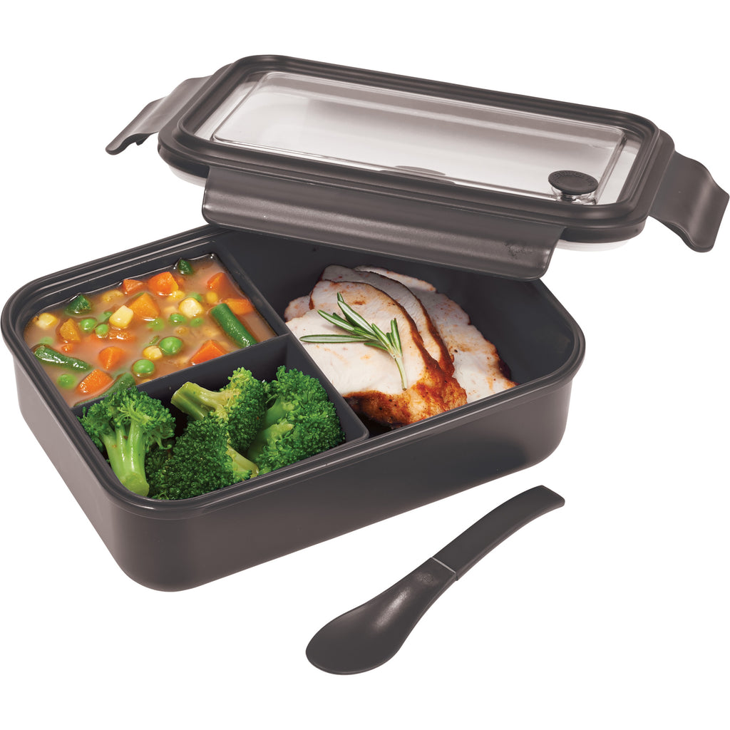Three Compartment Food Storage Bento Box 1031-56