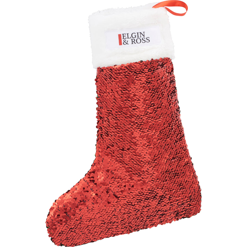 Snazzy Sequin Holiday Stocking 1036-17
