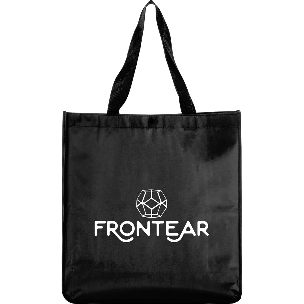 Oversized Laminated Non-Woven Snap Tote 2160-81