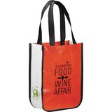 Small Laminated Non-Woven Shopper Tote 2160-04