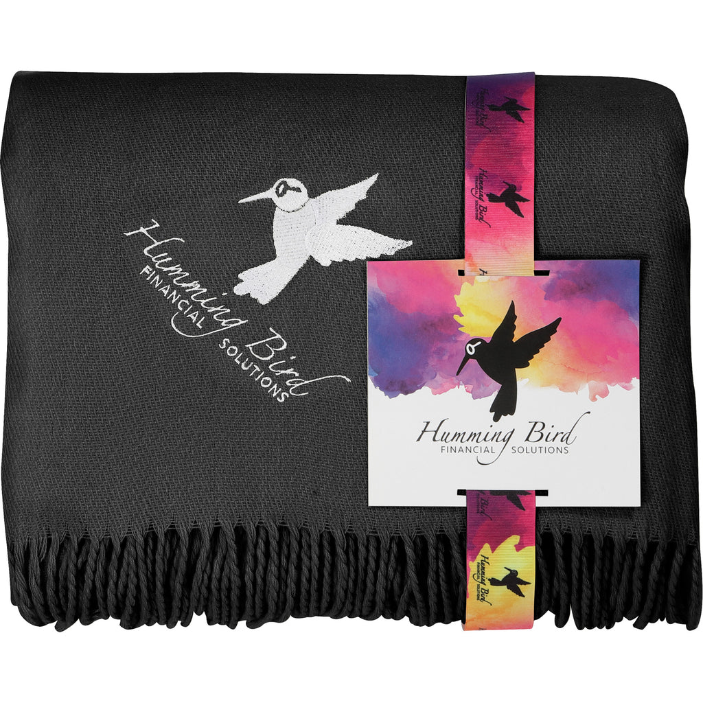 Oversized Lightweight Throw Blanket With Fc Card 1081-30