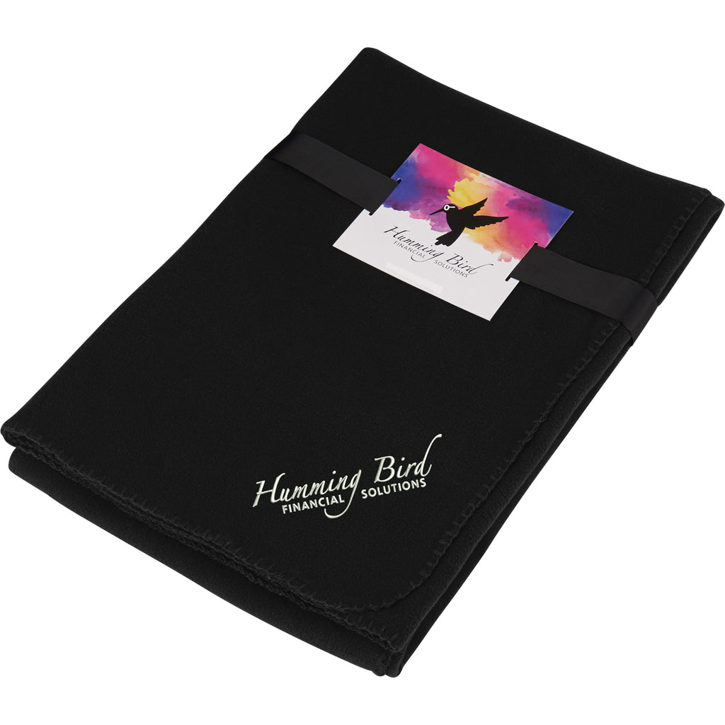 Ultra Soft Fleece Blanket With Full Color Card 1081-25
