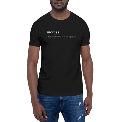 The Definition of Success Tee - Moteevated Apparel