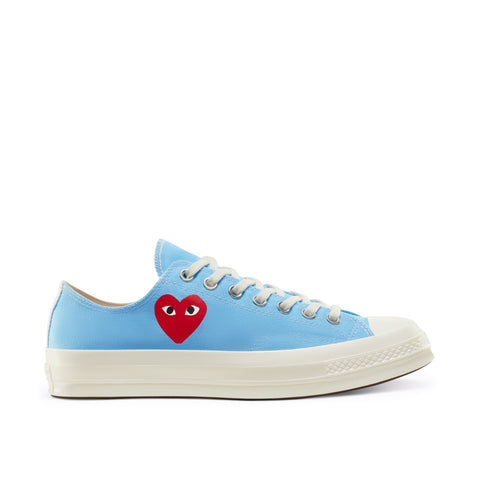 Play Comme des Garçons Converse ChuckTaylor'70 Bright / Low Top / Blue Neon