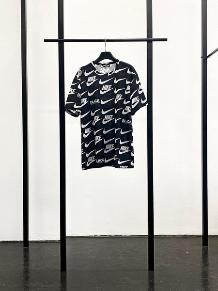 BLACK CDG x NIKE Graphic T-Shirt / Black