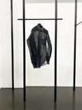BLACK CDG Filter Cloth Shirt / Black