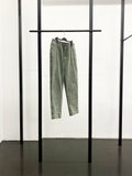 BLACK CDG Cotton Drill Pants / Khaki