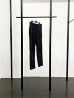 BLACK CDG Wool Gabardine Patchwork Pants / Black