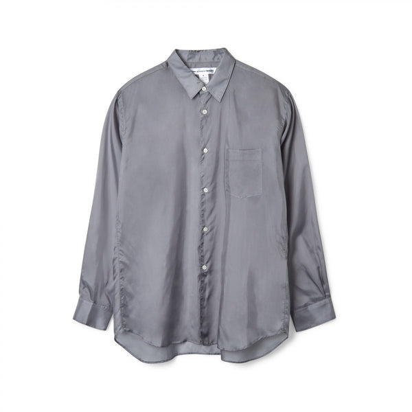 CDG SHIRT FOREVER Cupro Shirt / Grey