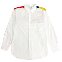CDG SHIRT / FG-B067-SS21-1 / MEN'S SHIRT - WHITE / MIX