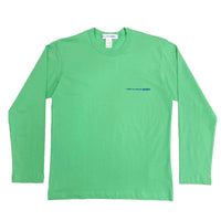 CDG SHIRT / FG-T019-SS21-1 / MEN'S LONG SLEEVED - GREEN