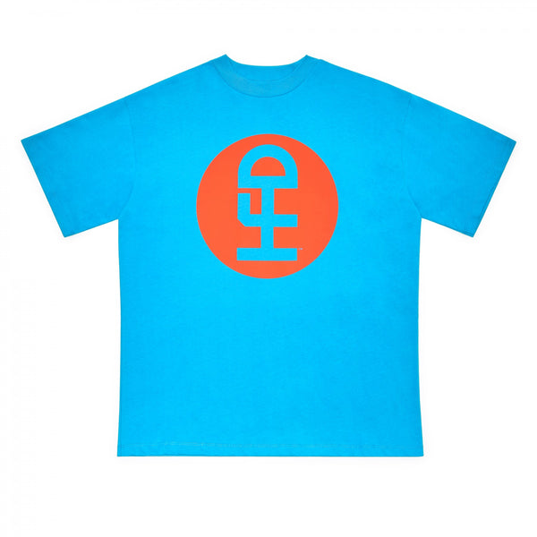 HONEY FUCKING DIJON Large Logo T-Shirt / Blue