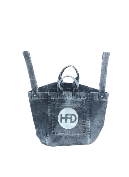 HONEY FUCKING DIJON Denim Bag Black