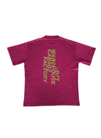 HONEY FUCKING DIJON Address T-Shirt Dark Fuchsia