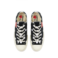 Play Comme des Garçons Converse  ChuckTaylor'70  Polka Dot / Low Top / Black