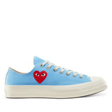 Play Comme des Garçons Converse ChuckTaylor'70 All Star Bright / Low Top / Blue - Limited Edition - CDG - neon colors - official online store - Flagship Berlin, Germany - FREE SHIPPING within Germany