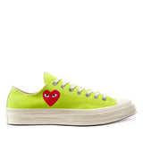 Play Comme des Garçons Converse ChuckTaylor'70 All Star Bright / Low Top / Green - Limited Edition - CDG - neon colors - official online store - Flagship Berlin, Germany - FREE SHIPPING within Germany