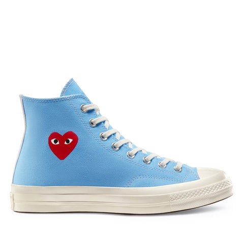 Play Comme des Garçons Converse ChuckTaylor'70 Bright / High Top / Blue