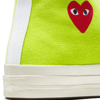 Play Comme des Garçons Converse ChuckTaylor'70 All Star Bright / High Top / Green - Limited Edition - CDG - neon colors - official online store - Flagship Berlin, Germany - FREE SHIPPING within Germany