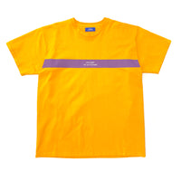 RASSVET T-Shirt - Yellow / Stripe Print