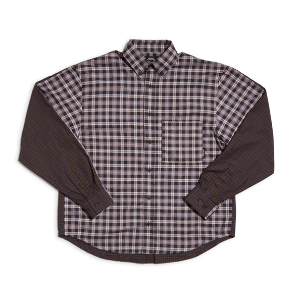 RASSVET Checkered Shirt - Mixed Checks 1