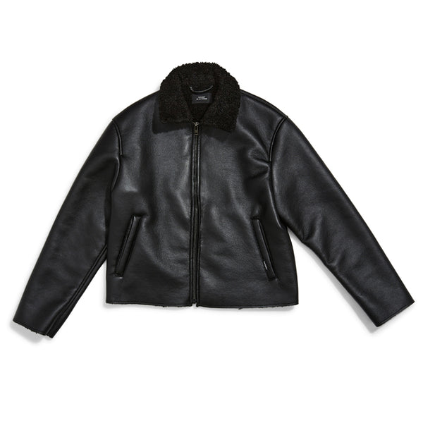 RASSVET Faux Leather Jacket